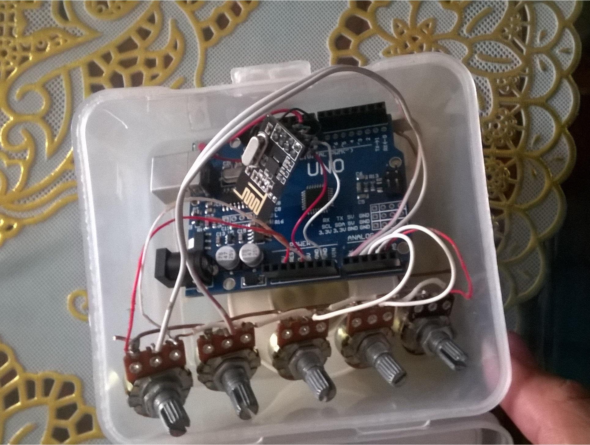 Bàn tay robot arm cộng đồng arduino việt nam