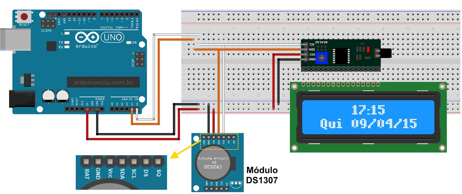 Giao tiếp I2C với nhiều module | Cộng đồng Arduino Việt Nam
