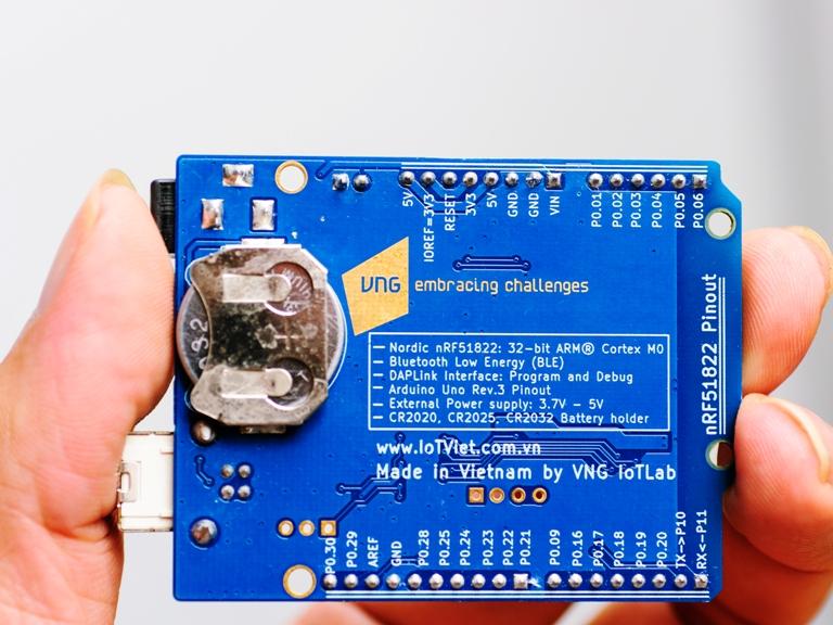 Giới thiệu bo mạch VBLUno51 của VNG | Cộng đồng Arduino Việt Nam